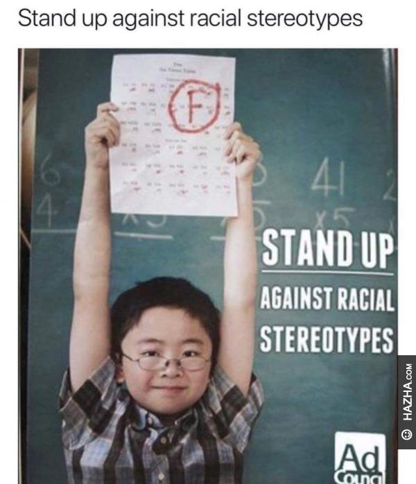 racial stereotypes Ten ethnic groups were placed in rank order by 60 princeton students on the basis of preference for association with their members the ranking was similar to the.